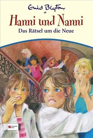 Hanni & Nanni, Band 24: Das Rätsel um die Neue | Cover