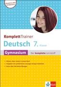 Klett KomplettTrainer Gymnasium Deutsch 7. Klasse: Der komplette Lernstoff