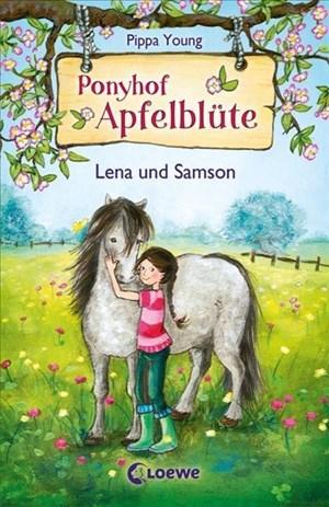 Ponyhof Apfelblüte 1 - Lena und Samson: Pferdebuch für Mädchen ab 8 Jahre   Cover