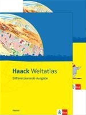 Haack Weltatlas. Differenzierende Ausgabe Hessen: Atlas mit Arbeitsheft Klasse 5-10 | Cover