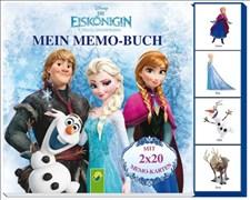 Mein Memo-Buch - Die Eiskönigin: Mit 2 x 20 Memo-Karten!