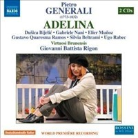 Generalli: Adelina (Bad Wildbad 2010) [2 CDs]