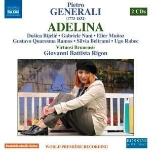 Generalli: Adelina (Bad Wildbad 2010) [2 CDs] | Cover