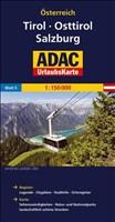 ADAC Urlaubskarte Tirol, Osttirol, Salzburg 1:150.000 (ADAC UrlaubsKarten Österreich 1:150.000)