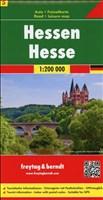 Freytag Berndt Autokarten, Blatt 5, Hessen - Maßstab 1:200.000
