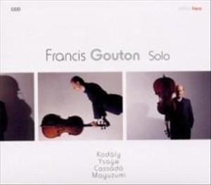 Francis Gouton Solo | Cover
