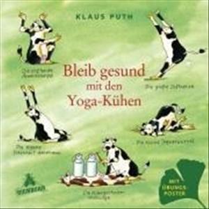 Bleib gesund mit den Yoga-Kühen   Cover