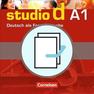 Studio d - Grundstufe: A1: Gesamtband - Kurs- und Übungsbuch mit Lerner-Audio-CD und Sprachtraining: 20707-9 und 20708-6 im Paket | Cover