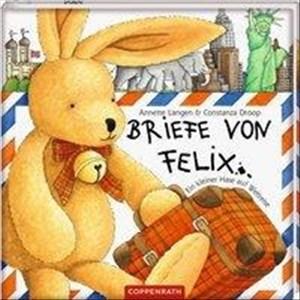 Briefe von Felix: Ein kleiner Hase auf Weltreise   Cover