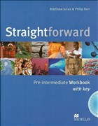Straightforward: Pre-intermediate / Workbook with Audio-CD and Key