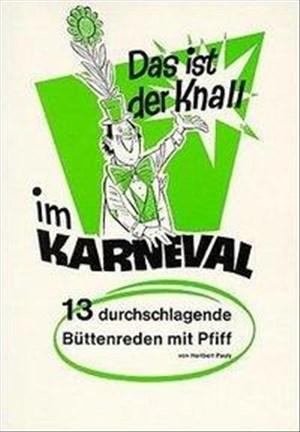 Das ist der Knall im Karneval, Bd.2 | Cover