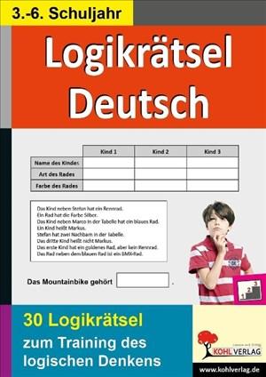 Logikrätsel Deutsch: Pfiffige Logicals zum Training des logischen Denkens | Cover