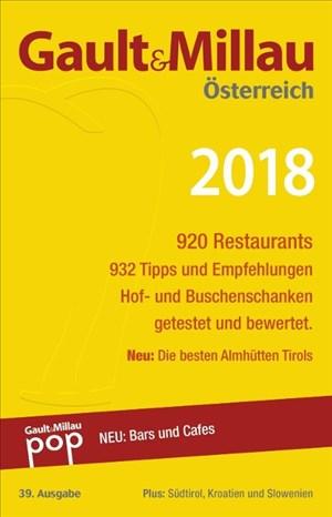 Gault&Millau Österreich 2018: Restaurant- und Weinguide | Cover