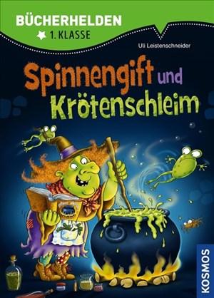 Spinnengift und Krötenschleim, Bücherhelden: Das Buch zum Spiel von Klaus Teuber | Cover