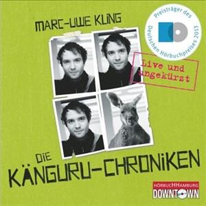 Die Känguru-Chroniken: Live und ungekürzt: 4 CDs | Cover