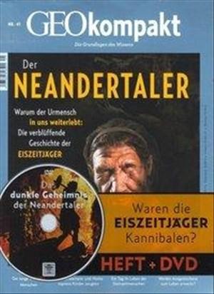GEOkompakt / GEOkompakt mit DVD 41/2014 - Der Neandertaler: DVD: Das dunkle Geheimnis der Neandertaler | Cover