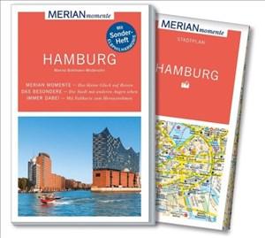 MERIAN momente Reiseführer Hamburg: Mit Extra-Karte zum Herausnehmen | Cover