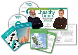 The Healthy Brain Kit: Clinically Proven Tools to Boost Your Memory, Sharpen Your Mind, & Keep Your Brain Young [With 35 Brain-Training Cards and 2 Au