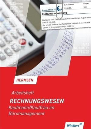 Rechnungswesen: Kaufmann/Kauffrau für Büromanagement: Arbeitsheft   Cover