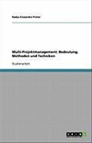 Multi-Projektmanagement: Bedeutung, Methoden und Techniken | Cover