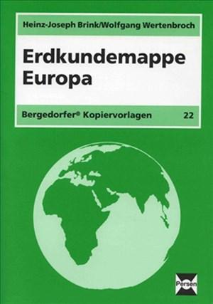 Erdkundemappe Europa: 5.-10. Klasse   Cover