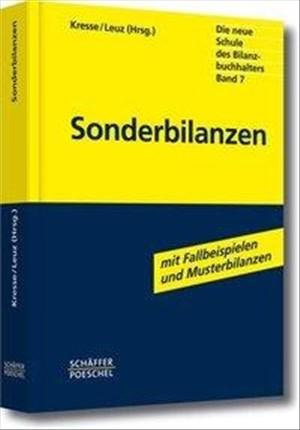 Sonderbilanzen (Die neue Schule des Bilanzbuchhalters) | Cover