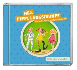 Hej, Pippi Langstrumpf SA (CD): Die grosse Astrid-Lindgren-Lieder-CD, 37 min. Hej, Pippi Langstrumpf Die grosse Astrid-Lindgren-Lieder   Cover