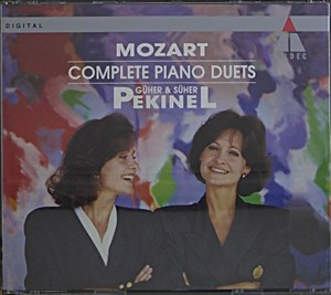 Mozart:Piano Duets- Complete | Cover