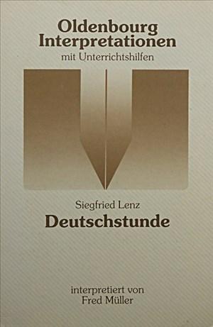 Oldenbourg Interpretationen, Bd.80, Deutschstunde | Cover