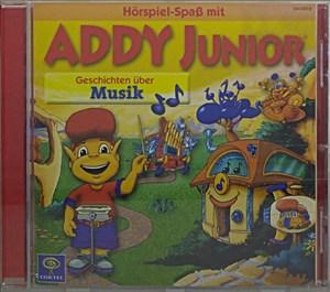 Addy Junior, Audio-CDs, Geschichten über Musik, 1 Audio-CD | Cover