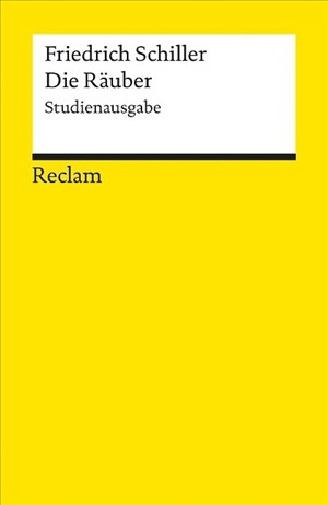 Die Räuber: Studienausgabe (Reclams Universal-Bibliothek) | Cover