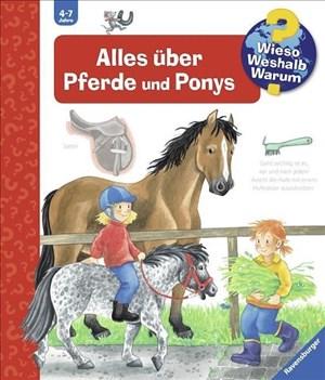 Alles über Pferde und Ponys (Wieso? Weshalb? Warum?, Band 21) | Cover