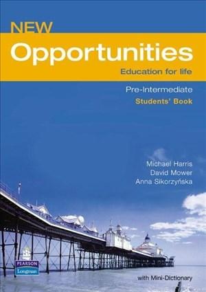 Opportunities Global Pre-Intermediate Students' Book NE | Cover