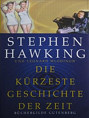 Die kürzeste Geschichte der Zeit.   Cover
