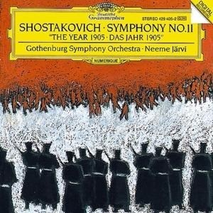 """Sinfonie 11 """"Das Jahr 1905""""   Cover"""
