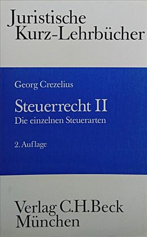 Steuerrecht, Bd.2, Die einzelnen Steuerarten | Cover