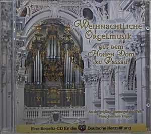 Weihnachtliche Orgelmusik aus dem Hohen Dom zu Passau | Cover