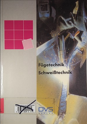 Fügetechnik - Schweißtechnik | Cover