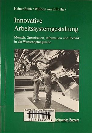 Innovative Arbeitssystemgestaltung | Cover