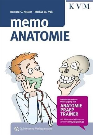 Memo Anatomie - Der wertvolle Begleiter für Studium und Praxis | Cover