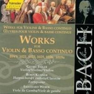 Edition Bachakademie Vol. 123 (Werke für Violine und Basso continuo) | Cover
