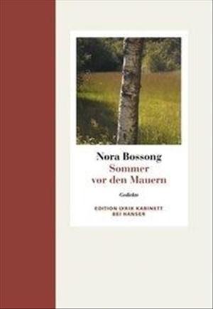 Sommer vor den Mauern. Gedichte | Cover
