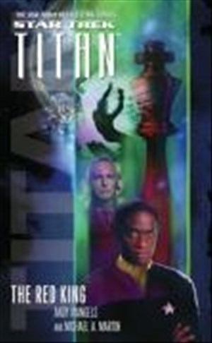 Titan #2: The Red King (Star Trek: The Next Generation, Band 2) | Cover