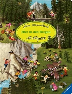 Mein Wimmelbuch: Hier in den Bergen | Cover