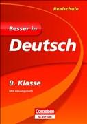 Besser in Deutsch - Realschule 9. Klasse (Cornelsen Scriptor - Besser in)