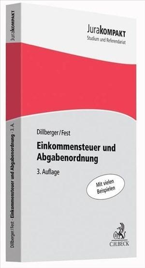 Einkommensteuer und Abgabenordnung (Jura kompakt)   Cover