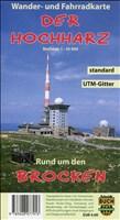 Der Hochharz - standard: Freizeitkarte rund um den Brocken. 1:30000