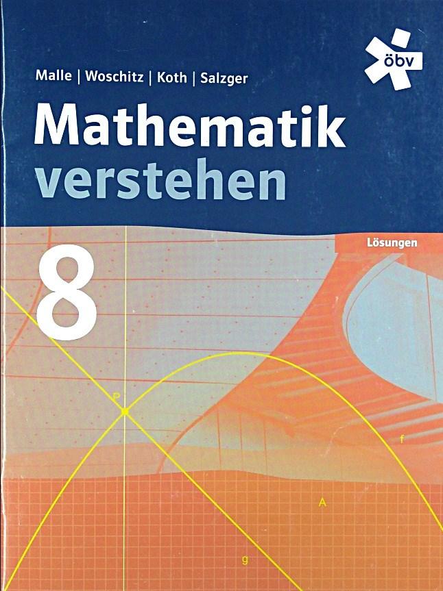 Malle Mathematik verstehen 8, Lösungen - Malle, Günther