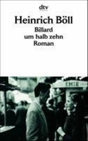 Billard um halb zehn: Roman | Cover