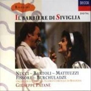 Rossini - Il Barbiere di Siviglia / Nucci · Bartoli · Matteuzzi · Fissore · Burchuladze · Teatro Comunale di Bologna · Patanè   Cover
